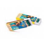 Спички рекламные, сувенирные, коробок АВИА 55х23х7мм