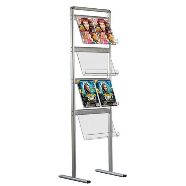 Стойка напольная для печатной продукции Brochure Sets на 8 шт./А4
